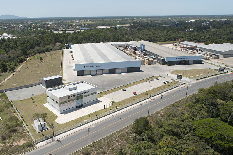 Cosentino espa a instalaciones for Fabrica de granito