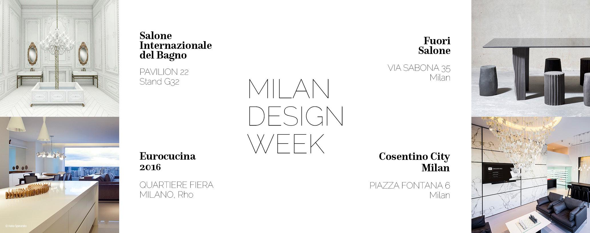 Semaine de la mode de milan 2016 for Milano week design