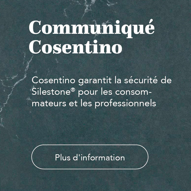 Cosentino Statement