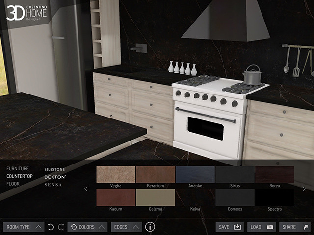 App Cosentino 3D Home Design