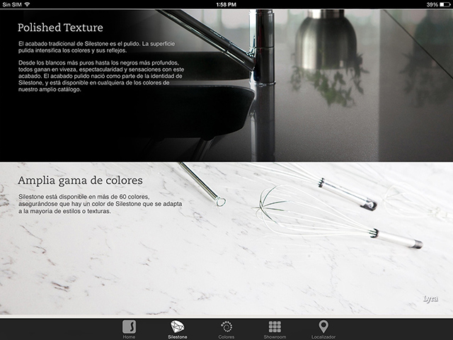 App Silestone