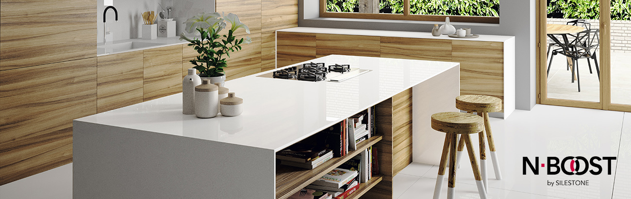 Silestone Iconic White - Nboost